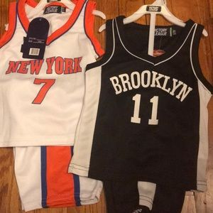Other - Brand new Bklyn and Ny basketball set